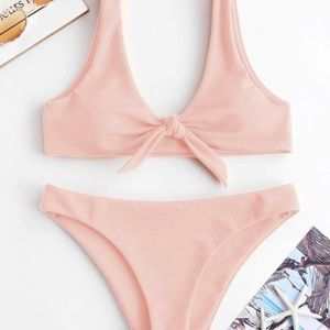 Small pink bathing suit
